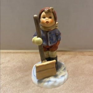 "Goebel Hummel ""Let it Snow"" Figurine"